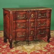 French provincial walnut commode c. 1790, 18th century antique chest