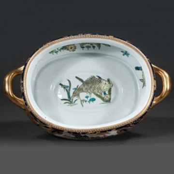 Chinese Porcelain Foot Bath Clark Antiques Gallery