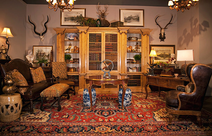 Come walk through our Library/Game room! - Fine Antiques, Accessories & Estate Silver In Birmingham, Alabama