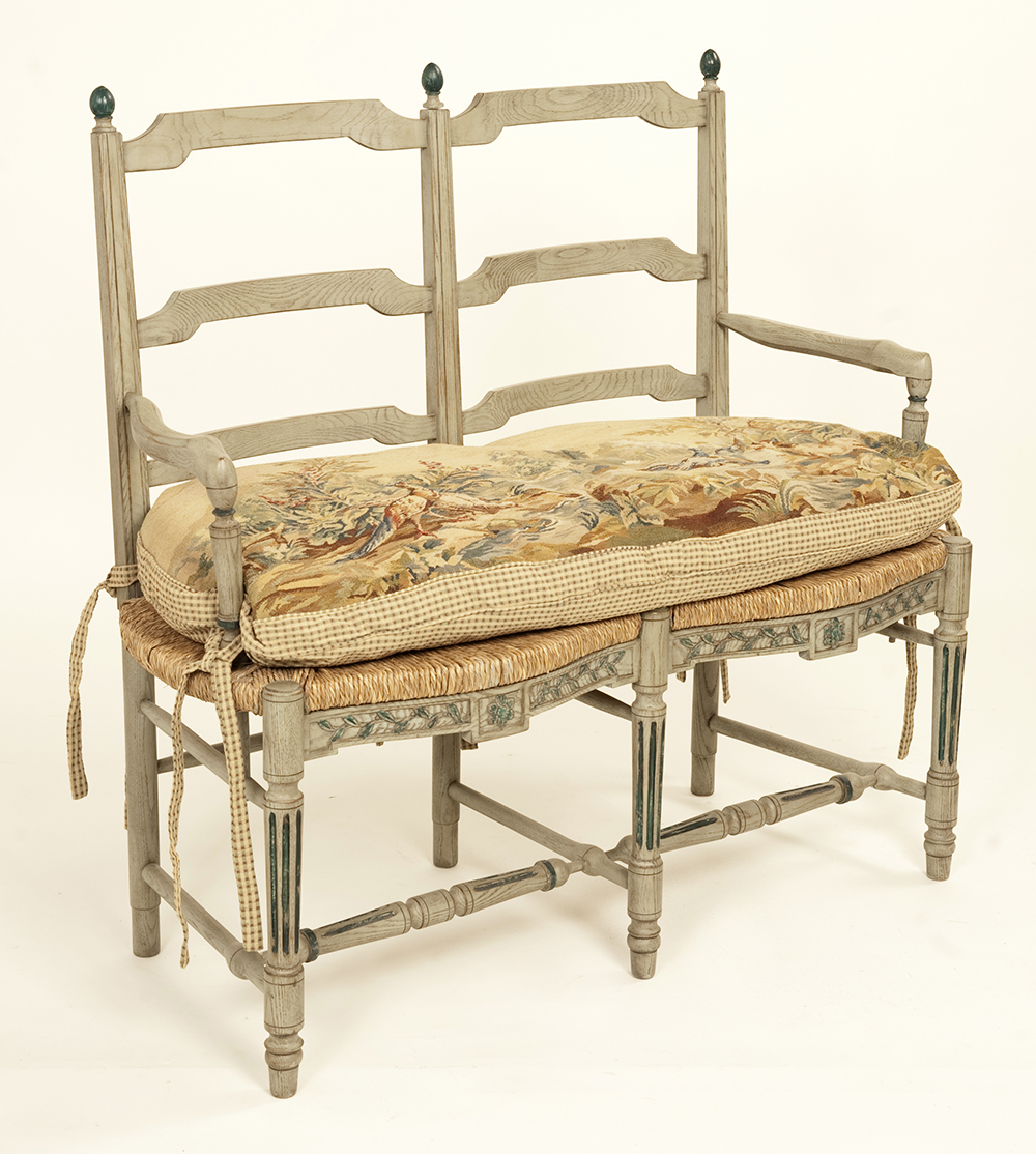 Country French Bench Clark Antiques Gallery Clark