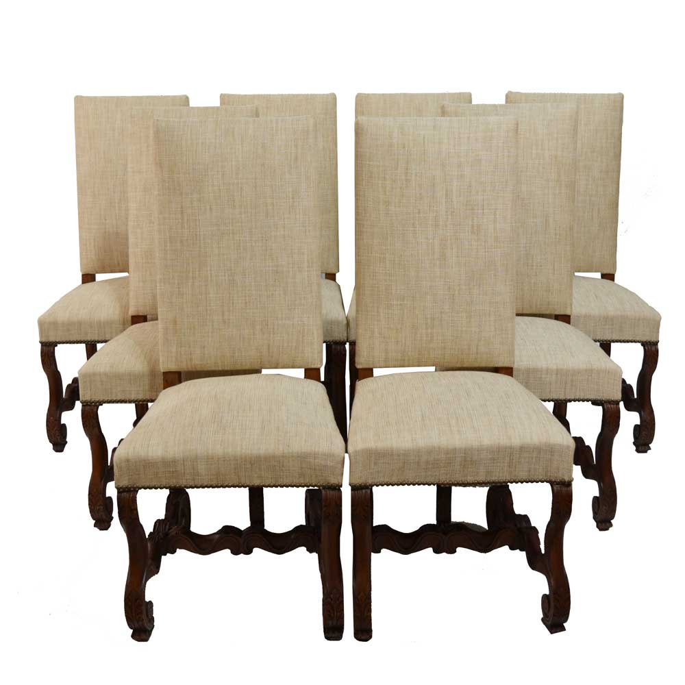 French Country Sheepbone Chairs S 8 Clark Antiques