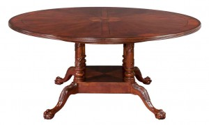 Chippendale Round Dining Table