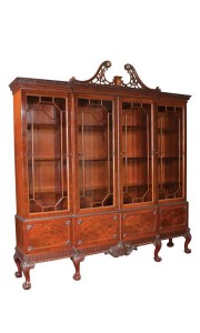 Chippendale Mahogany Breakfront