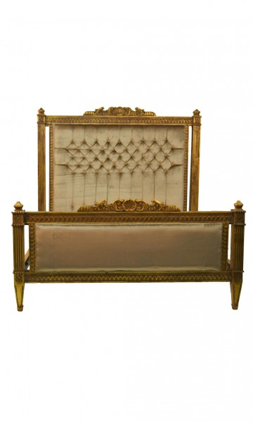 Mohair King-Size Bed