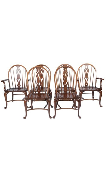 English Windsor Chairs, S/6