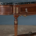 detail, marble-toppedconsole