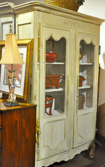 antique country french armoire c. 1800