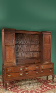 Queen Anne oak Welsh dresser
