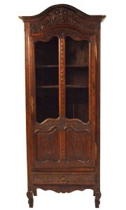 Country French Oak Cabinet