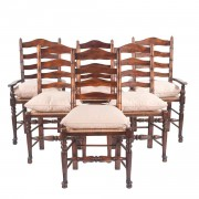 English Ladder Back Chairs