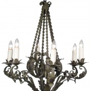 wrought-iron-chandelier