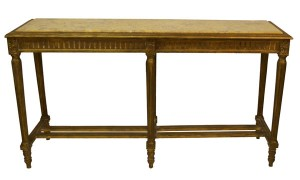Louis XVI-Style Marble-Top Console