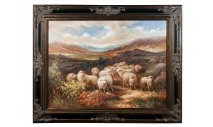 Scottish Highland Original Oil on Canvas