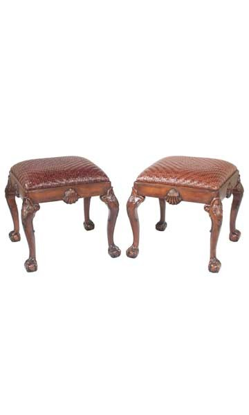 Georgian-footstools